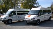 Schulbus mit Erdgas-Antrieb