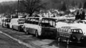 Erste Fahrzeuge